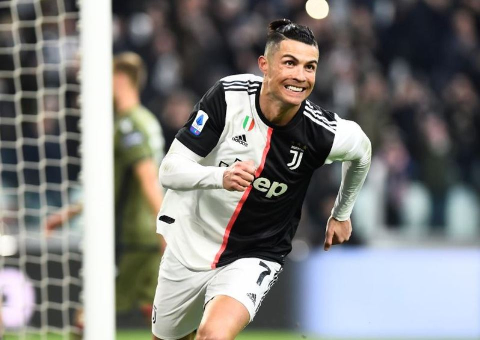Ronaldo strikes again as Juve cruise past Roma