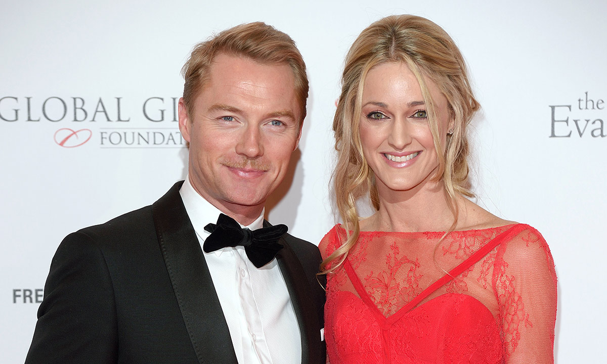 Ronan Keating welcomes second child with wife Storm
