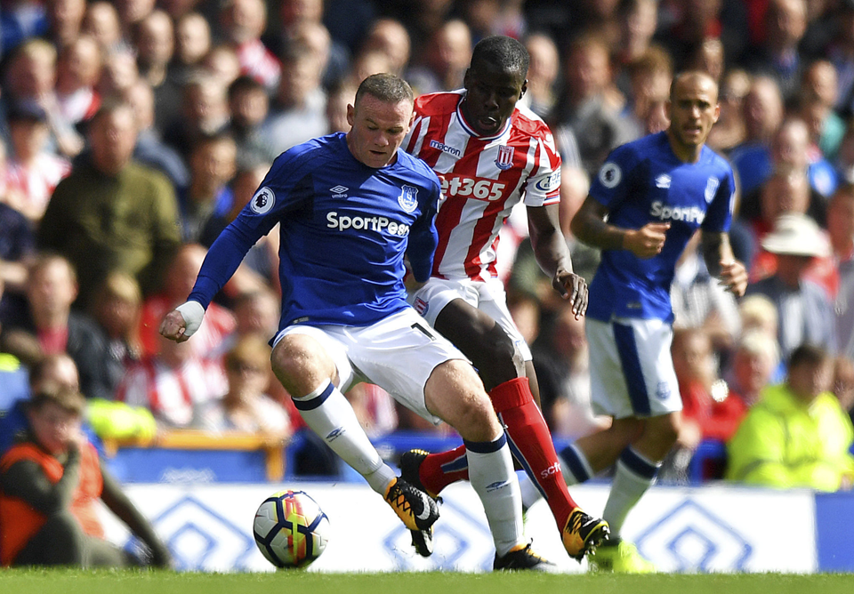 Rooney scores as Everton beats Stoke 1-0 in EPL