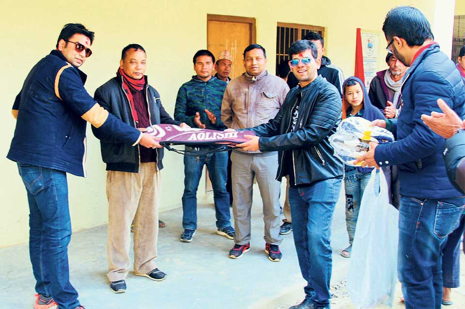RTN inaugurates school building in Nuwakot
