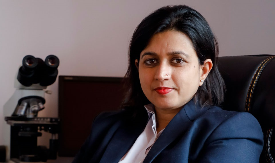 Nepal's Dr Runa Jha included in UN Women's 'Five women on the front lines of COVID-19 response'