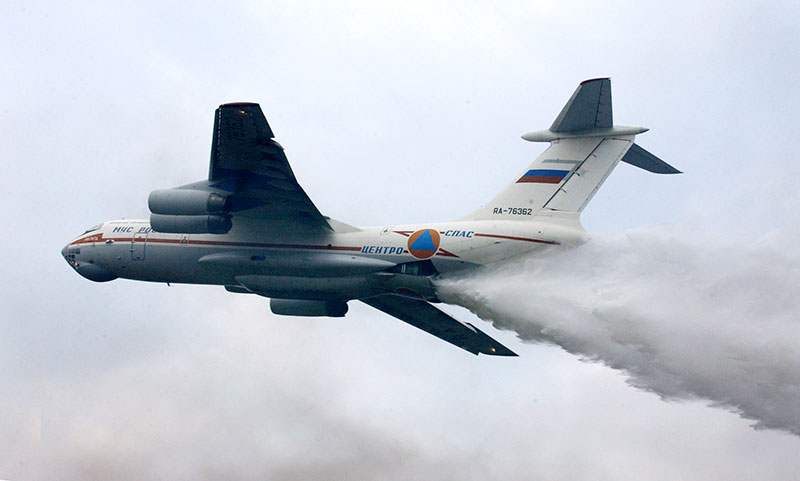 Russian firefighting plane disappears in Siberia
