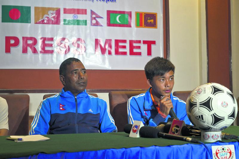 Nepal under pressure to win SAFF U-15 Championship: Coach Shrestha