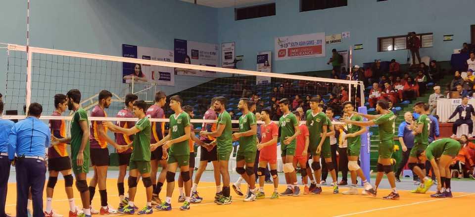 Sri Lanka wins Bronze medal in Men's Volleyball