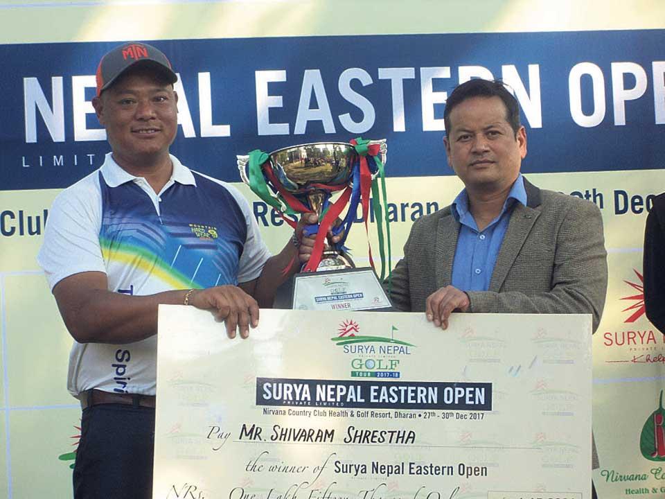 Shrestha wins Surya Nepal Eastern Open