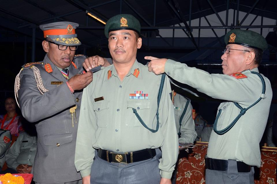 Six APF officials promoted to SSP