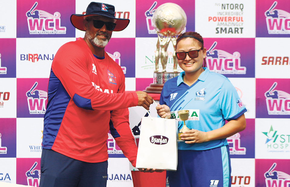 Rai's immaculate bowling gives Titans' second win