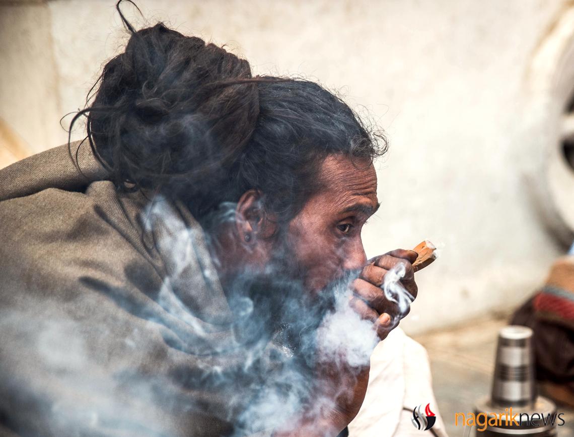 Sadhus in Pashupatinath (Photo feature)