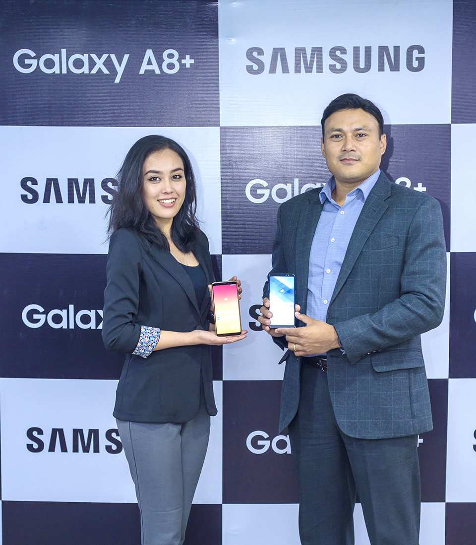 Samsung Galaxy A8+ launched in Nepal