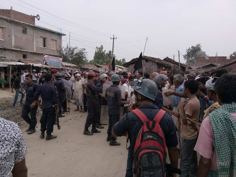Clashes erupts between RJPN and FSFN cadres in Sarlahi (Update)