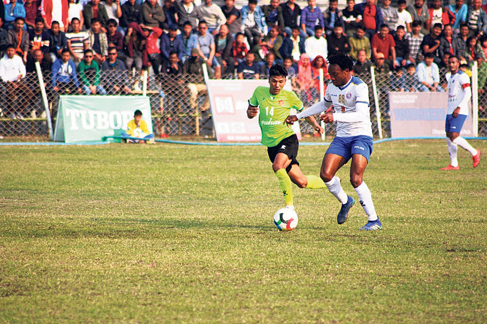Machhindra to face Three Star for Satashi Gold Cup title