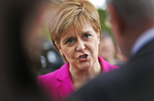 Scotland's leader seeks new independence referendum