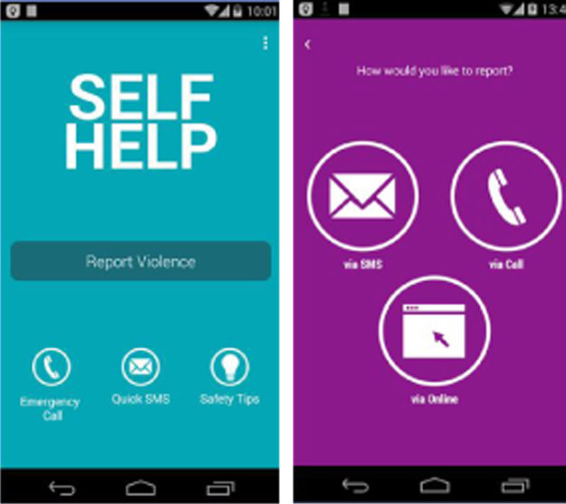 Self Help app will save you from danger