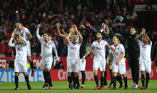 Sevilla held by Alaves, loses ground to Barcelona and Madrid
