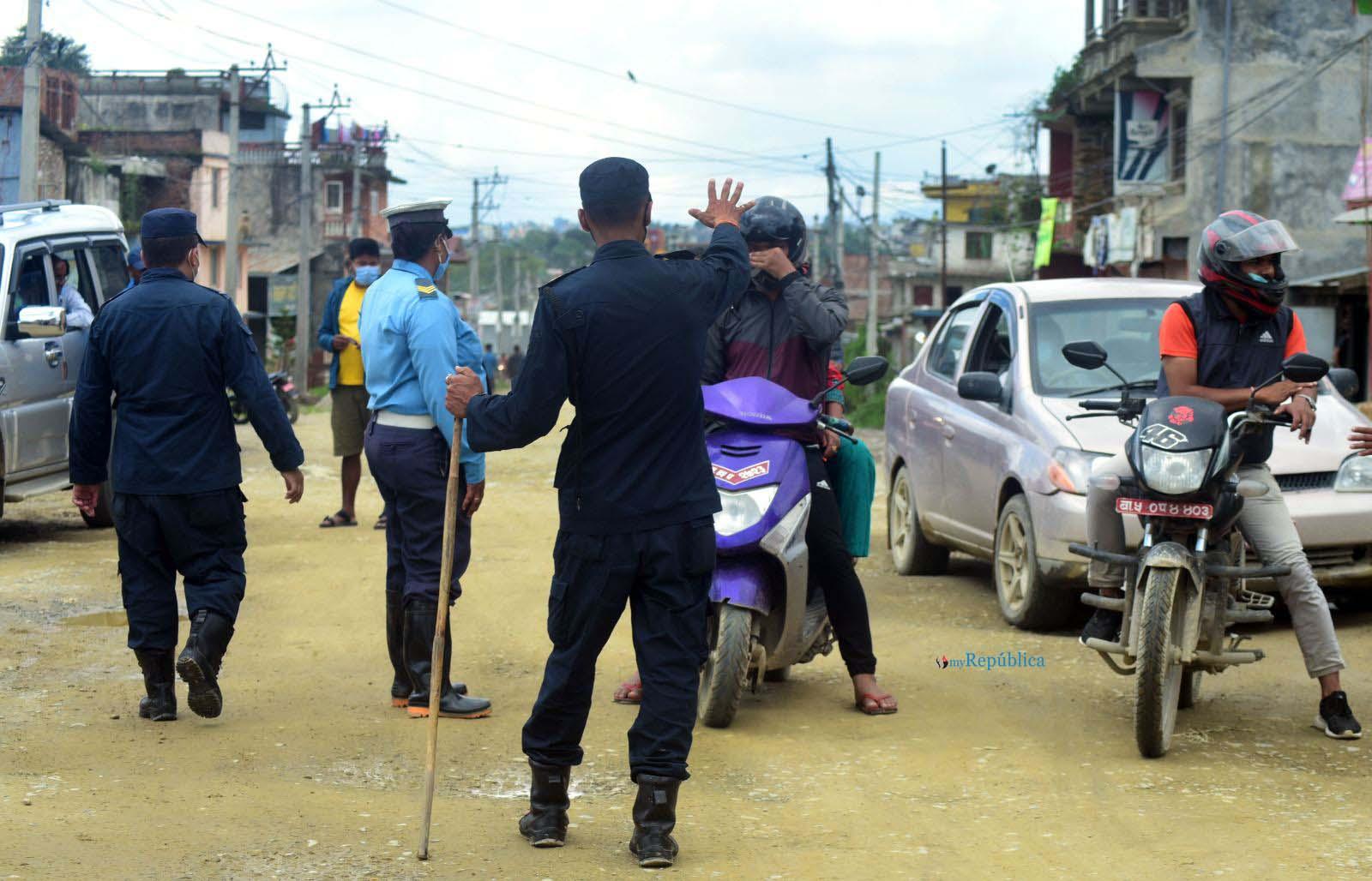 Kathmandu's Shankharapur Municipality sealed off for 15 days