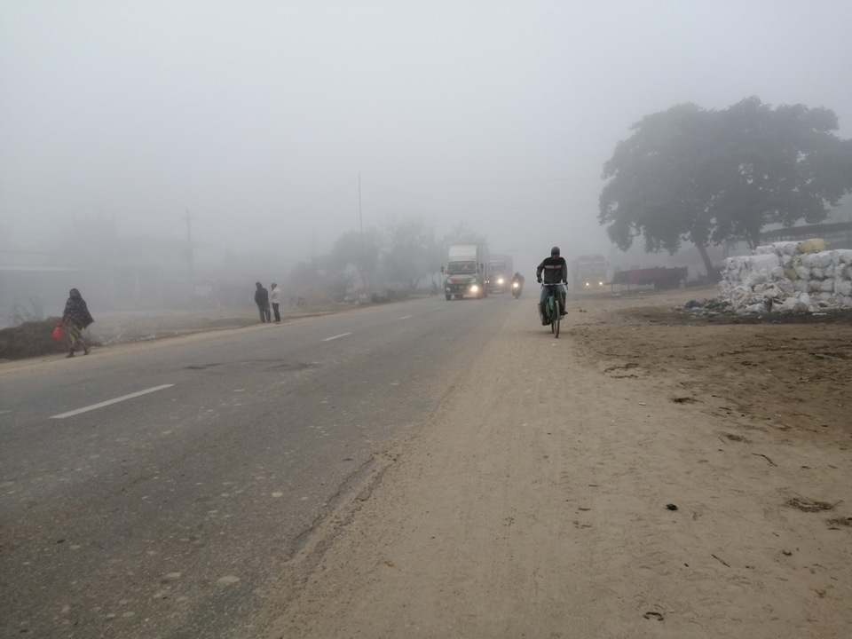 Cold wave cripples normal life in Terai districts (with photos)