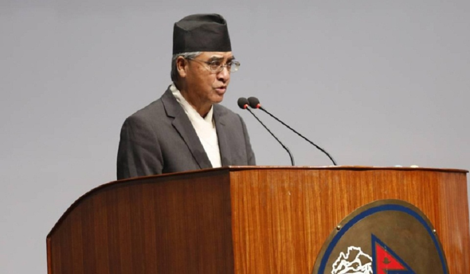 Govt's policies and programs like an imagination of a multi-year plan: Deuba