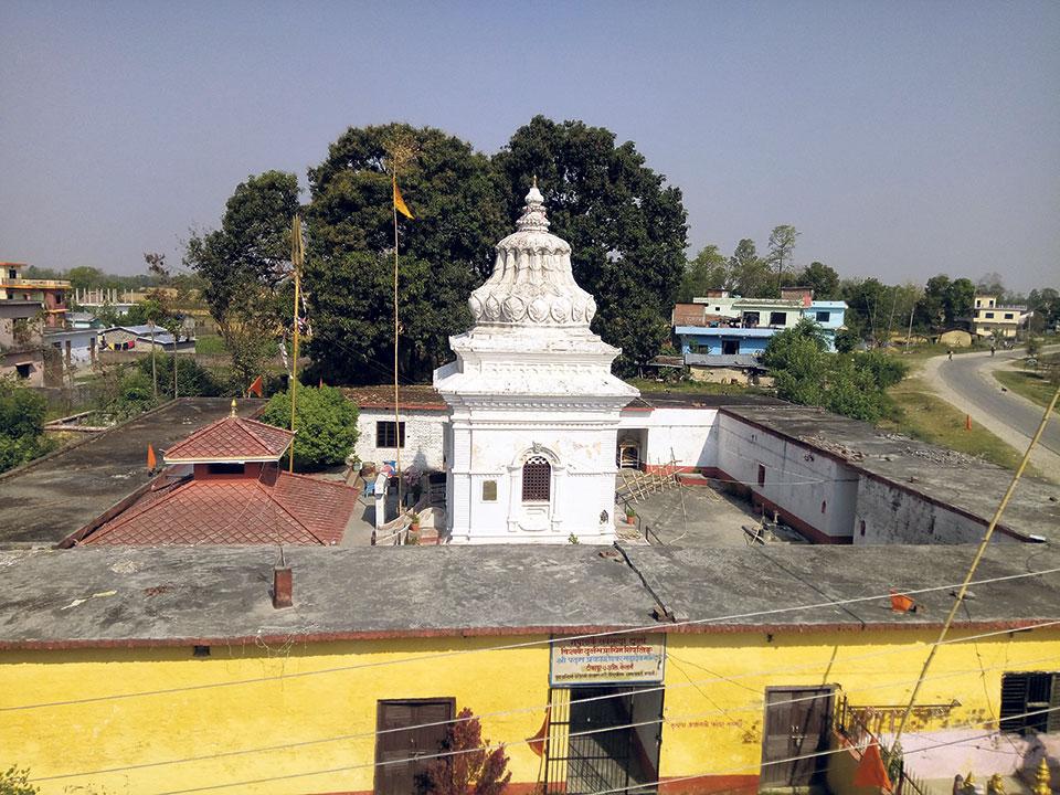 700 bigha of temple land shrinks to 8 kattha