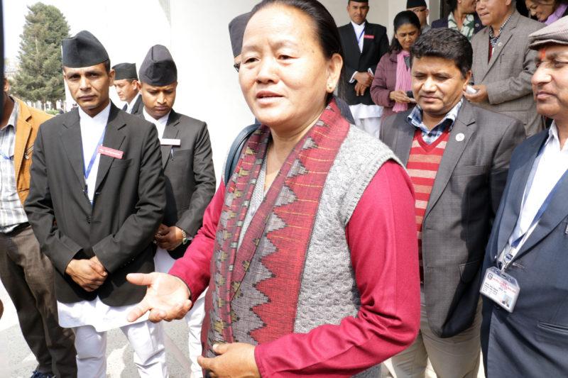 UML leader Shivamaya Tumbahamphe elected Deputy Speaker