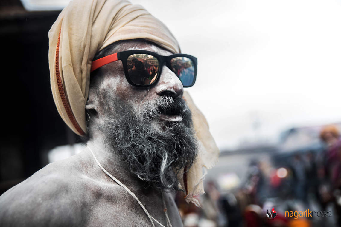 In pictures: 'Gaja' and glamour at Pashupatinath