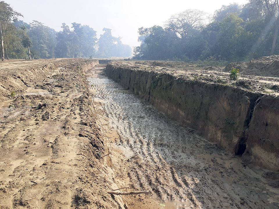 45% work completed on eastern canal