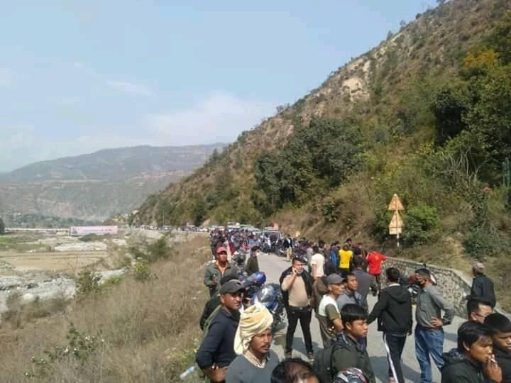 1 dies in Sindhuli accident, BP Highway obstructed