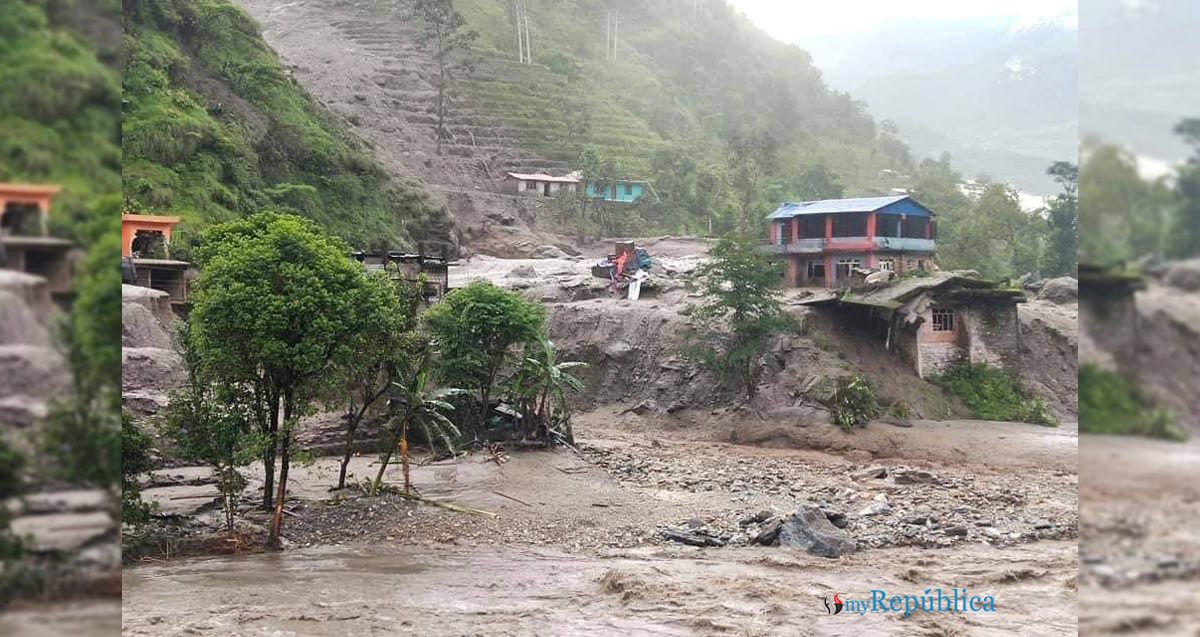 Sindhupalchowk flood updates: Two die, 20 missing (with photos)