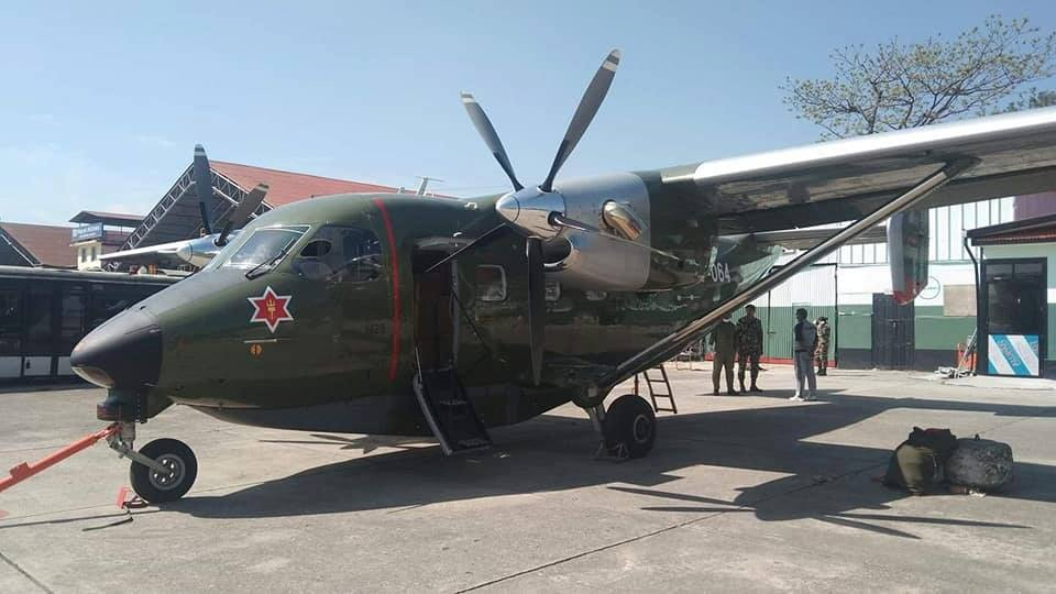 Nepal Army sky truck bound for Sudurpaschim returns mid-way without delivering medical supplies