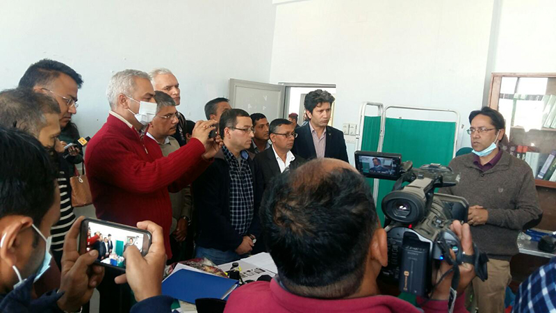 Editors of media houses express solidarity with Dr KC