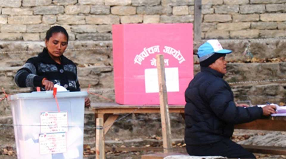 30 per cent voting in Solukhumbu till 12:00 PM (Photo feature)