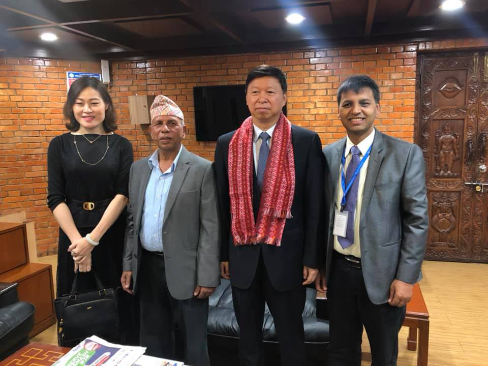 Chinese Communist Party's foreign affairs cell chief arrives in Kathmandu