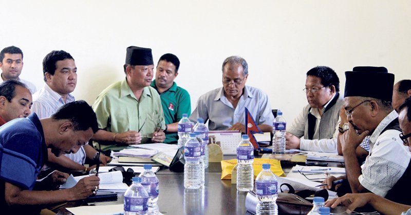 ANFA presidential election on October 24