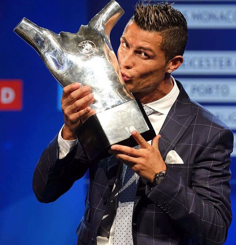 Portugal star Cristiano wins UEFA Best Player in Europe award