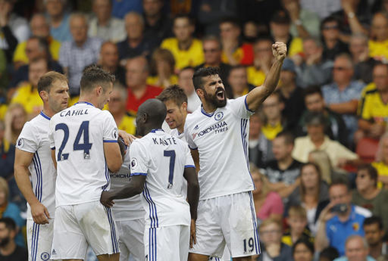 Chelsea leaves it late to beat Watford 2-1