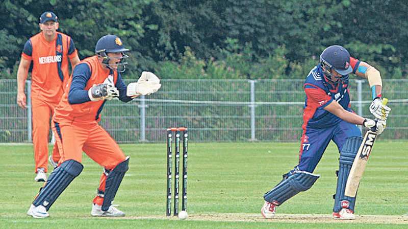 Paras, Sagar guide Nepal to victory over Netherlands