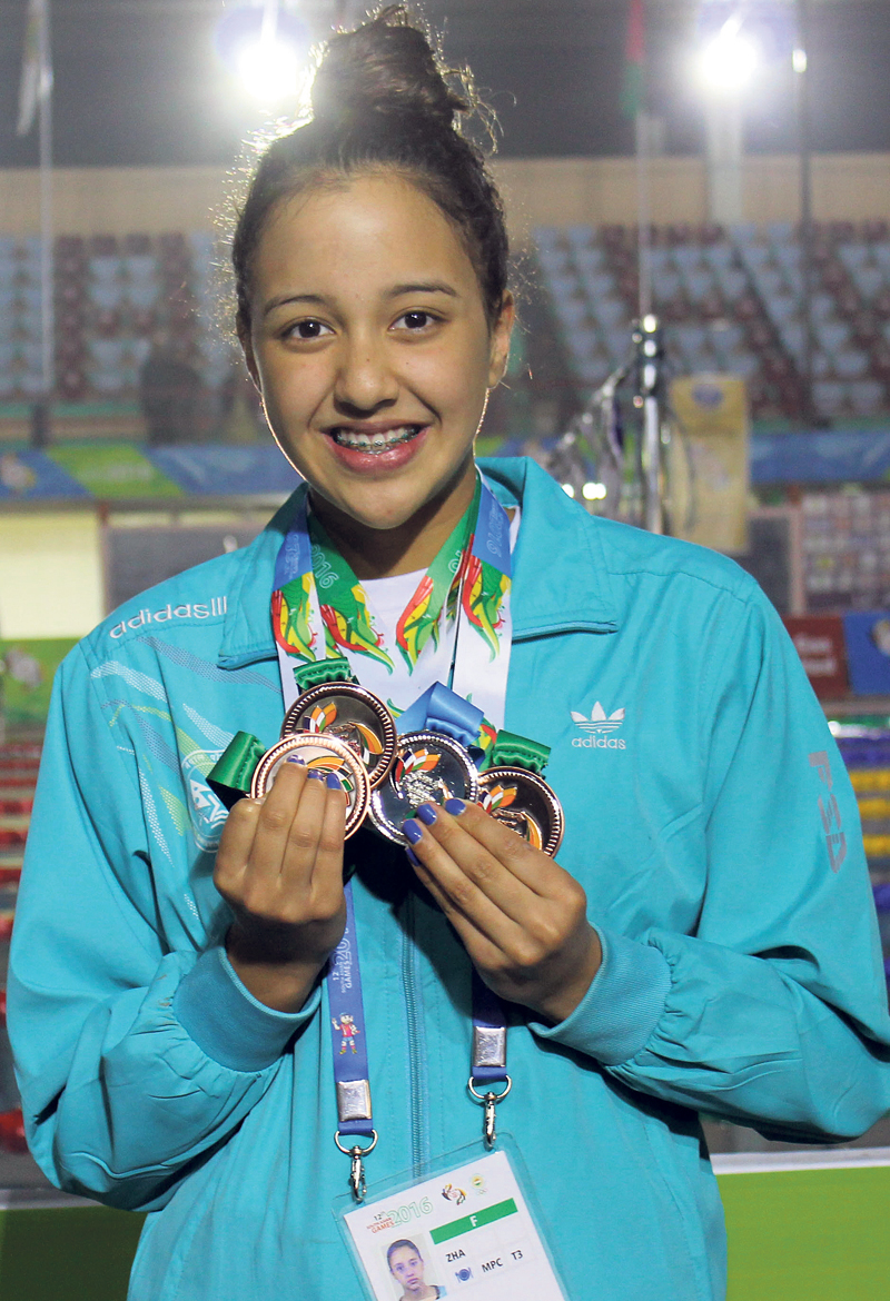 Gaurika confirmed youngest player in Rio