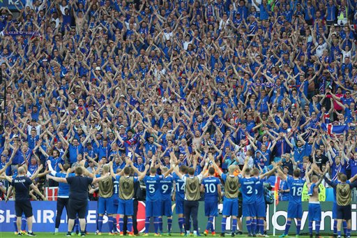 Iceland advances at Euro 2016, next plays England