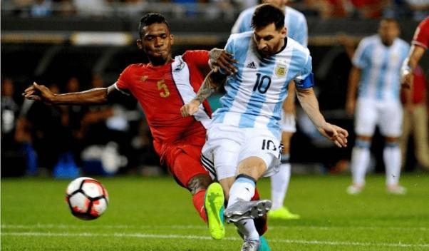 Lionel Messi fires Argentina into quarter-finals!