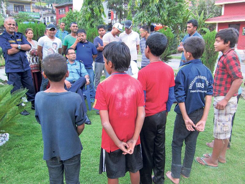 Police intercept 21 children from Nepal-India border in Baitadi