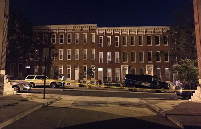 3 year old girl among 8 injured in Baltimore shooting