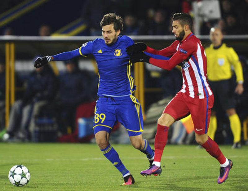 Carrasco fires Atletico to win over Rostov