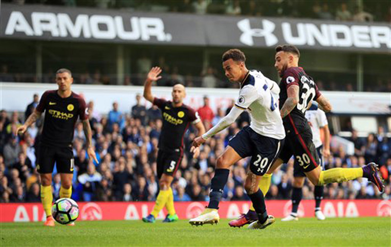 Spurs end Guardiola's perfect EPL start as citizens crumbles