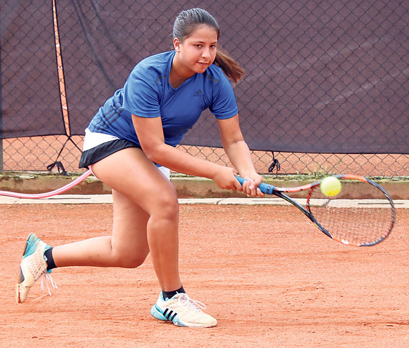 Rana siblings win girl's doubles