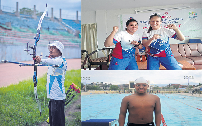 Nepali athletes eye breaking national records