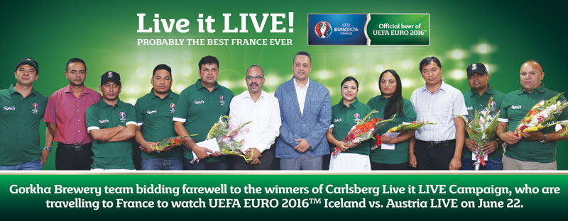 8 Carlsberg campaign winners off to France