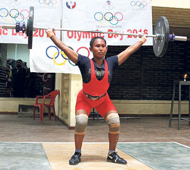 Devi Chaudhary sets new national record in weightlifting