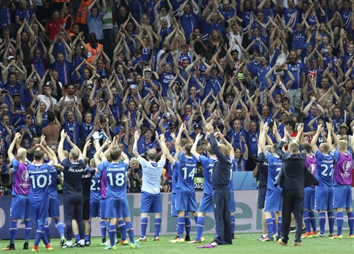 England out of Euro 2016, beaten by Iceland