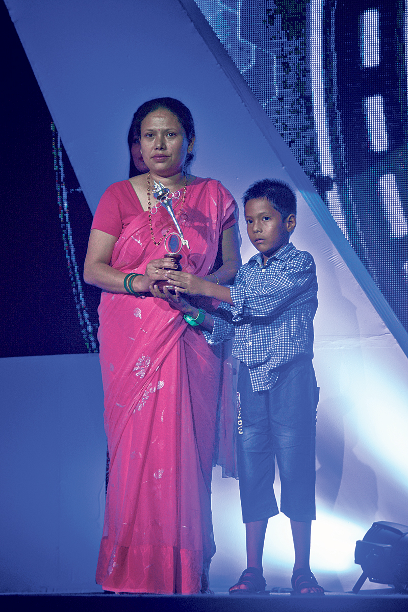 Shrestha given special award posthumously