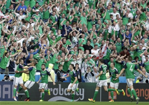Northern Ireland bags first win, Ukraine eliminated