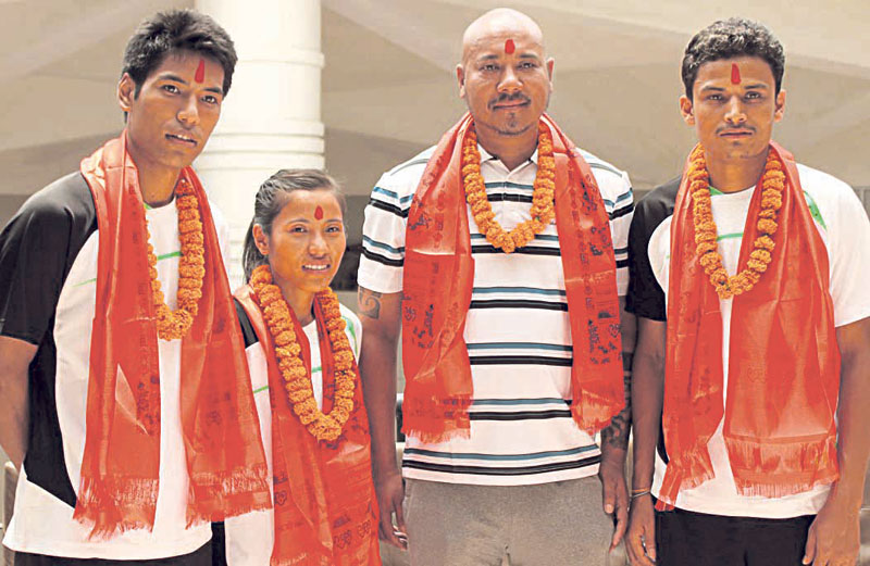 Nepali shuttlers to compete in US Open Grand Prix